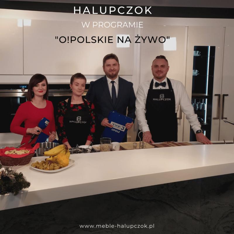 Świąteczne gotowanie na antenie TVP 3 Opole