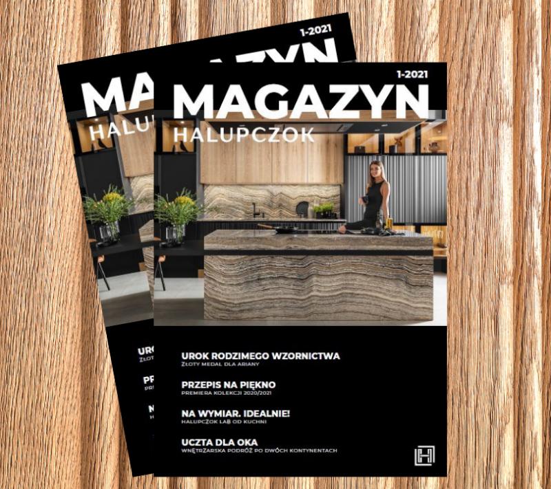 Nowe wydanie Magazynu Halupczok 1/2021