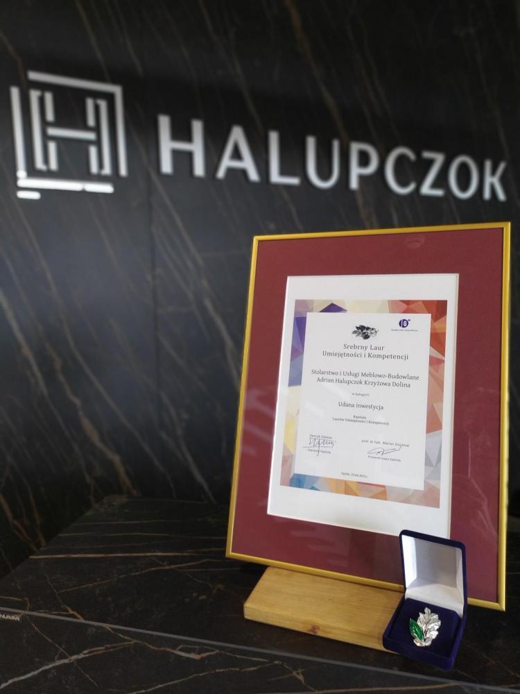 Halupczok uhonorowany Srebrnym Laurem