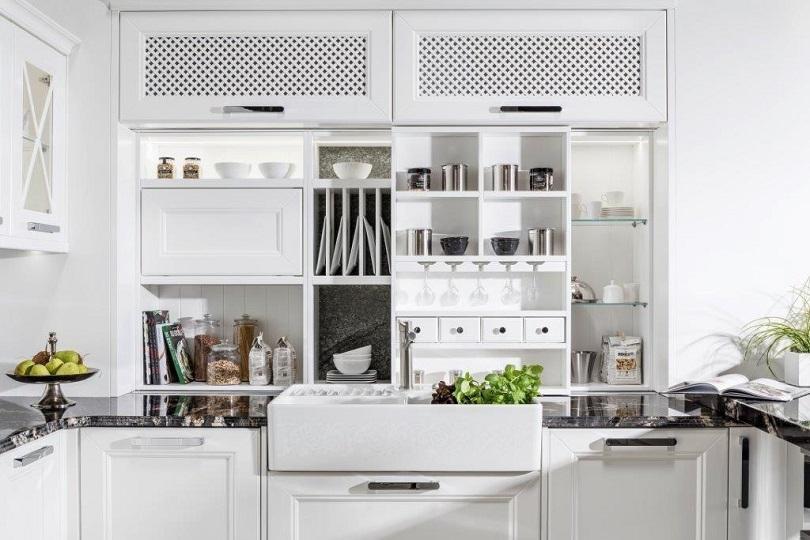 Wystrój kuchni – styl glamour