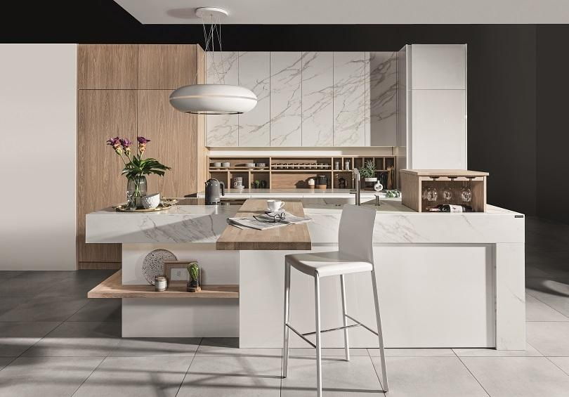 Jak dobrać krzesła do wyspy kuchennej w kuchni otwartej na salon?