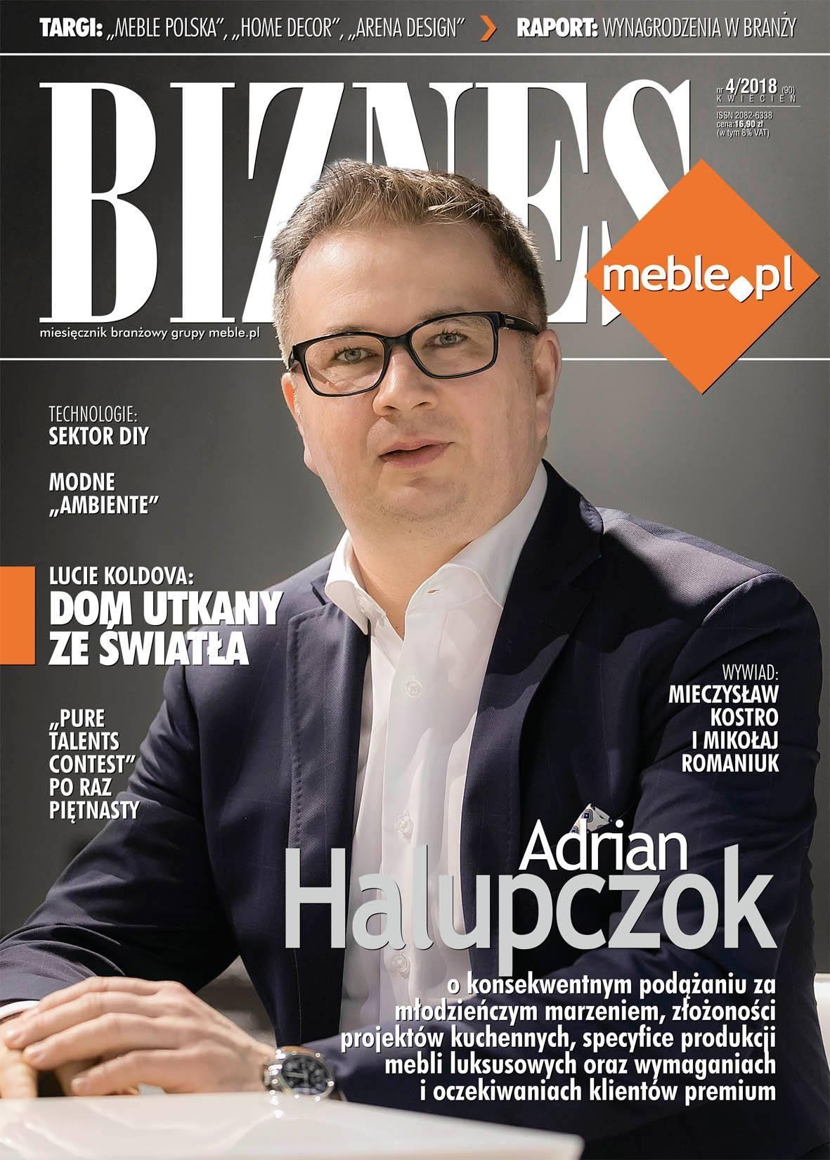 Założyciel firmy Halupczok w plebiscycie Człowiek Dekady