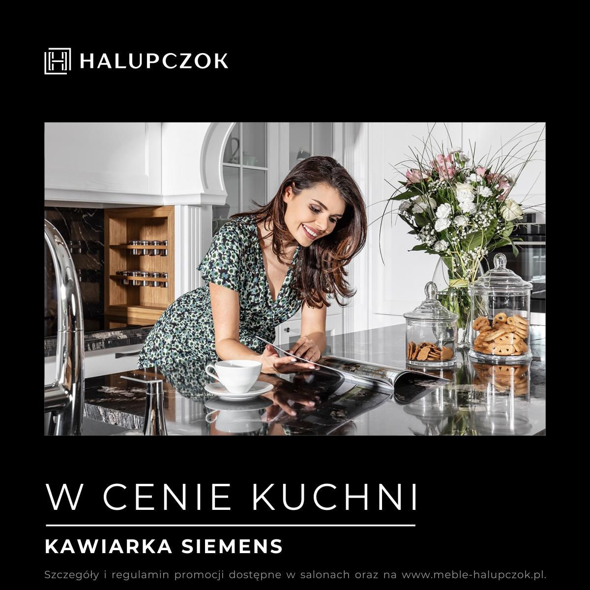 Luksusowa kawiarka w cenie kuchni